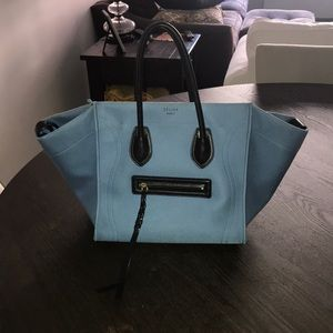 Celine Canvas Phantom Bag